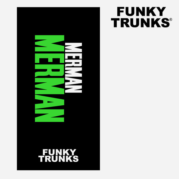FUNKY TRUNKS(펑키트렁크)FT9002260-Green Merman 비치타올