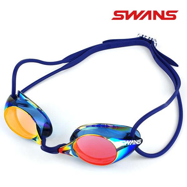 ecdb1d6a772 SWANS(일본스완스)선수용 수경(미러/노패킹) SR-1M(DBSHD) - 수영사랑