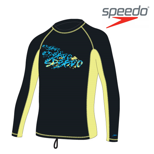 수입스피도 남아동 래쉬가드Youth Boy Fashion Rashguard L/S SRJ-SB100(BK)