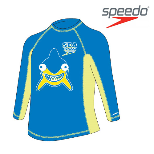 수입스피도 남유아 래쉬가드Kid Boy Fashion Rashguard L/S SRJ-SB160(BL)