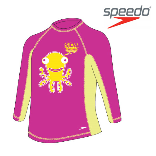 수입스피도 여유아 래쉬가드Kid Girl Fashion Rashguard L/SSRJ-SB170(PK)
