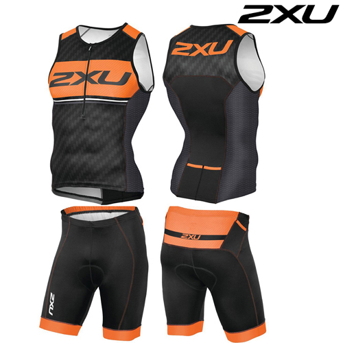 2XU 철인3종 경기복  Men's perform Pro Tri Set - 2016   MT3623a/MT3624b