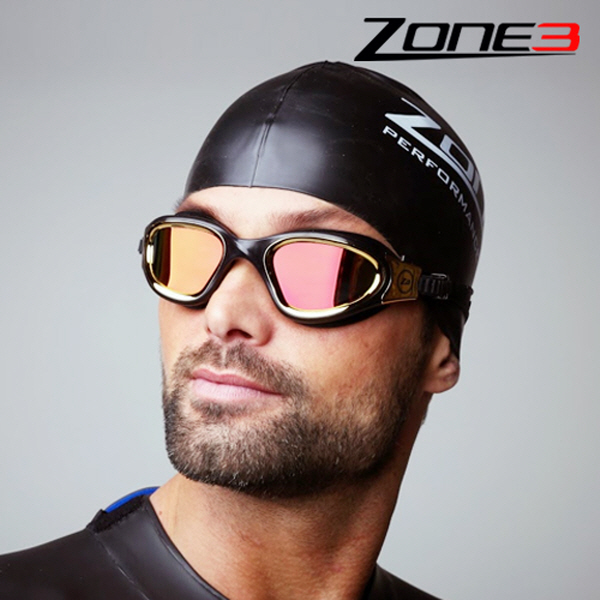 Zone3 오픈워터 수경 Vapour Goggles (BLACK/GOLD)