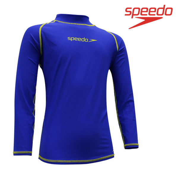 스피도 남아동 래쉬가드SPEEDO YOUTH BOY CLASSIC RASHGUARD L/S SRJ-SF120(BL)