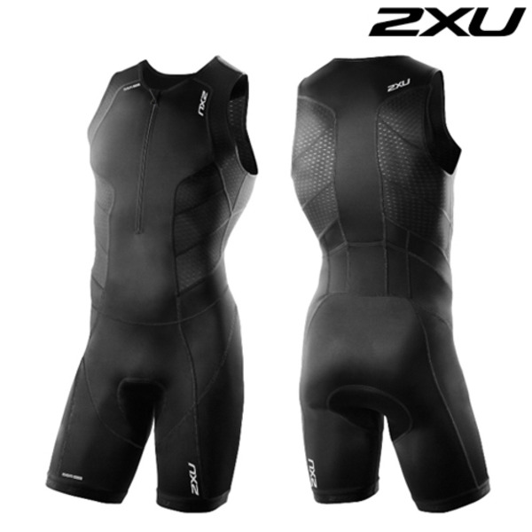 2XU 철인3종 경기복  Men's Perform Front Zip Trisuit- 2016  MT3858d(Black)