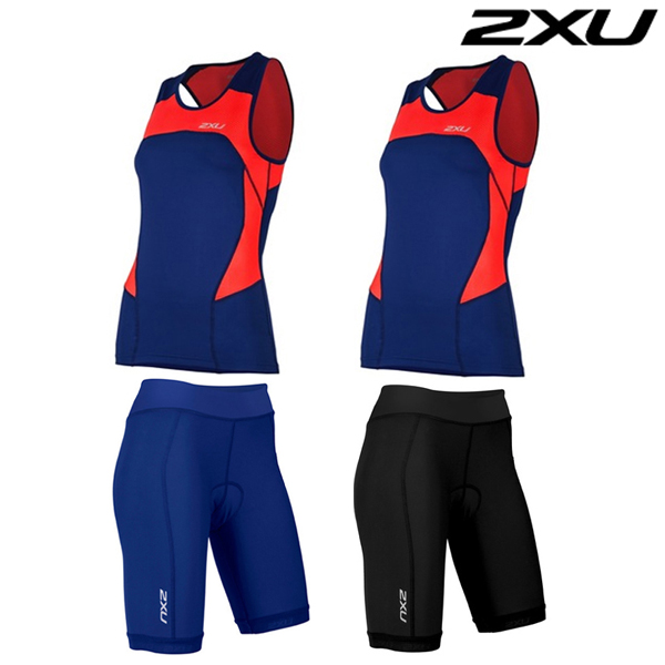 2XU 철인3종 경기복  Woman's Active Tri Set-WT4374b(TRN)
