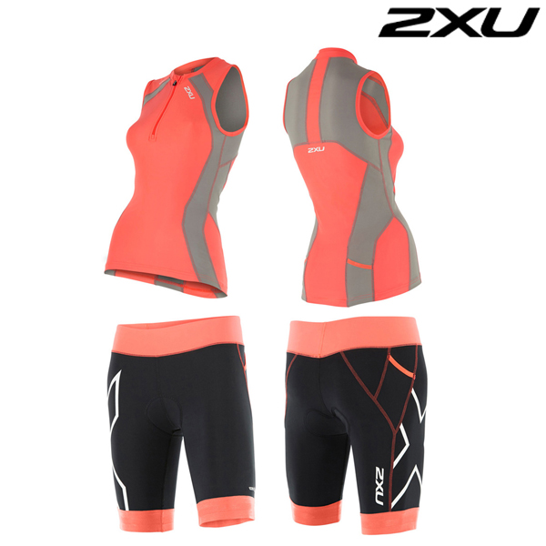 2XU 철인3종 경기복  Women's Compression Tri Set-WT4441a