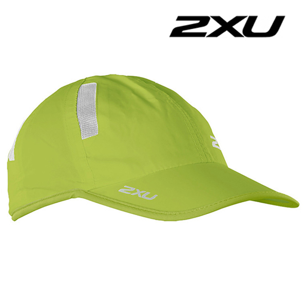 2XU Run Cap(런캡)-Lime Punch
