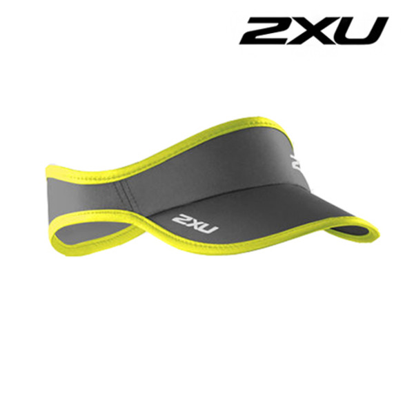 2XU Run Visor(런바이저)-Lime Punch