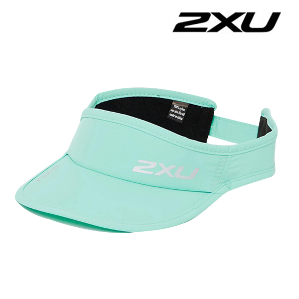2XU Run Visor(런바이저) - Seafoam