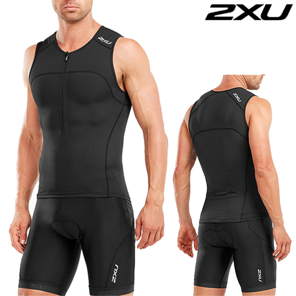 2XU 철인3종 경기복  Men's Active TrisuitMT4863a/MT4864b(Black)