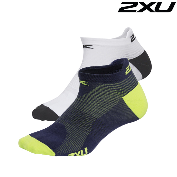 2XU 남성용 런닝양말 Man's No Show Socks ( MQ2655e)