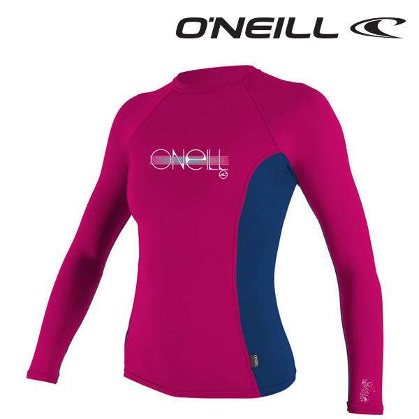 Oneill(오닐)주니어 래쉬가드 4176 GIRLS SKINS RASH GUARD - WTRMLN COB WTRML