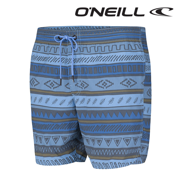 Oneill(오닐)남성 보드숏 503220 DUNE DISCOVRS BOARDSHORT - BLUE AOP W/W