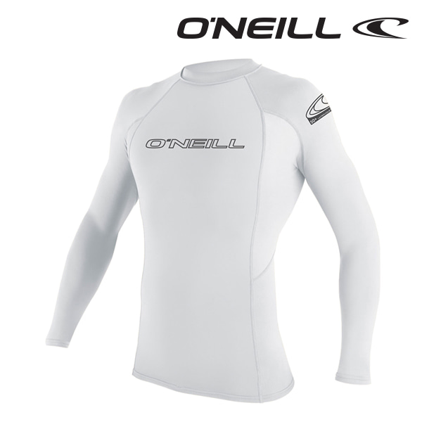 Oneill(오닐)남성 래쉬가드 3342 BASIC SKINS L/S RASH GUARD - WHITE