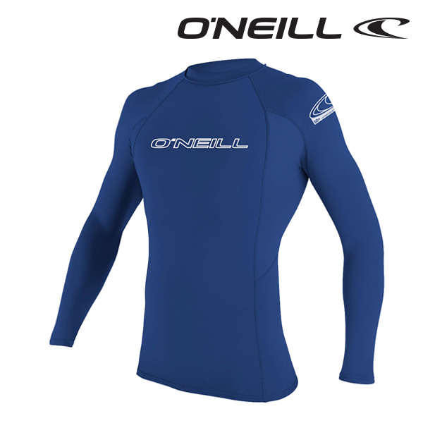 Oneill(오닐)남성 래쉬가드 3342 BASIC SKINS L/S RASH GUARD - PACIFIC