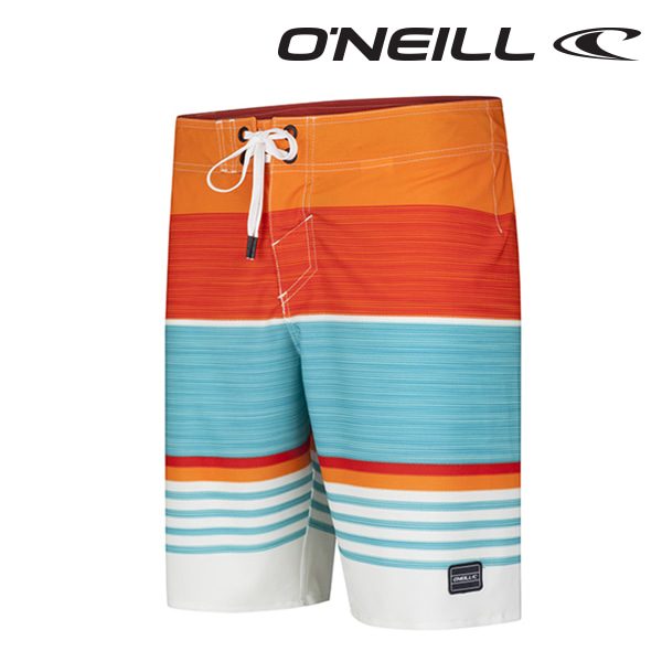 Oneill(오닐)남성 보드숏 503112 HYPERFREAK HEIST BOARDSHORT - RED AOP