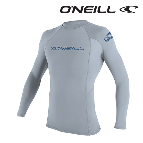 Oneill(오닐)남성 래쉬가드 3342 BASIC SKINS L/S RASH GUARD - FOG BLUE