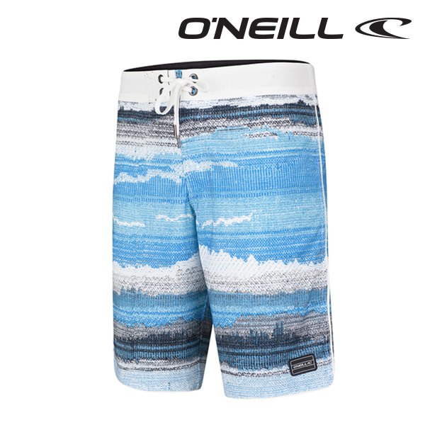 Oneill(오닐)남성 보드숏 503108 HYPERFREAK RADIATE BOARDSHORT - BLUE AOP