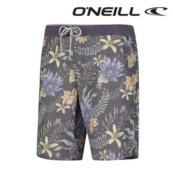 Oneill(오닐)남성 보드숏 503136 OR NELUMBO BOARDSHORT - BLACK AOP