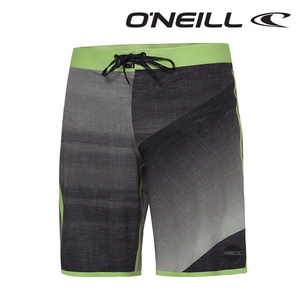 Oneill(오닐)남성 보드숏 503100 HYDRO FREAK BOARDSHORT - BLACK GREEN