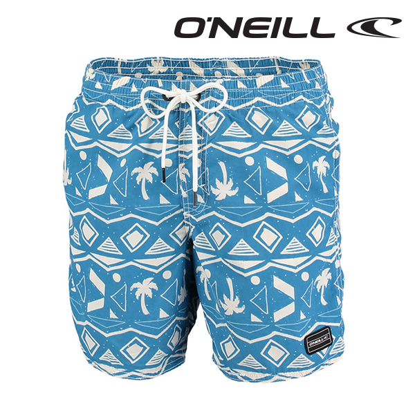 Oneill(오닐)남성 보드숏 503222 THIRST FOR SURF BOARDSHORT - BLUE AOP