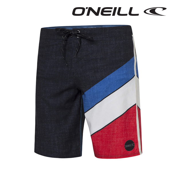 Oneill(오닐)남성 보드숏 503104 JORDY FREAK BOARDSHORT - WHITE AOP