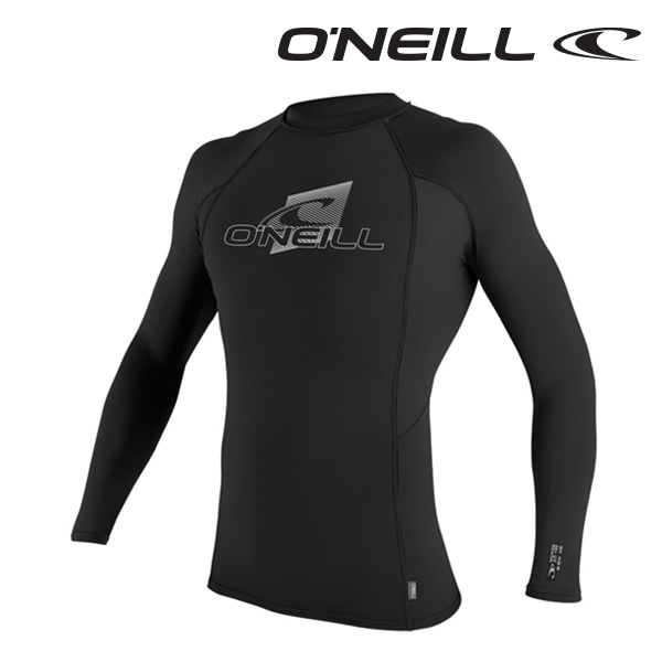Oneill(오닐)남성 래쉬가드 4170 SKINS L/S CREW RASH GUARD - BLACK