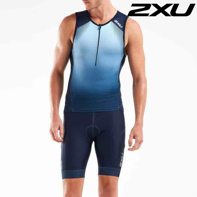 2XU 남성 철인3종 경기복 투피스 Men's Perform Tri Set MT5530a, MT5532b MDN FMB