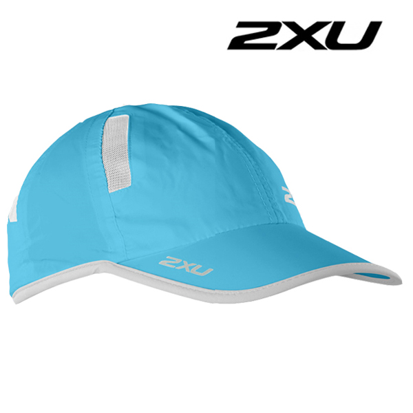 2XU 런캡 Run Cap BLA/WHT