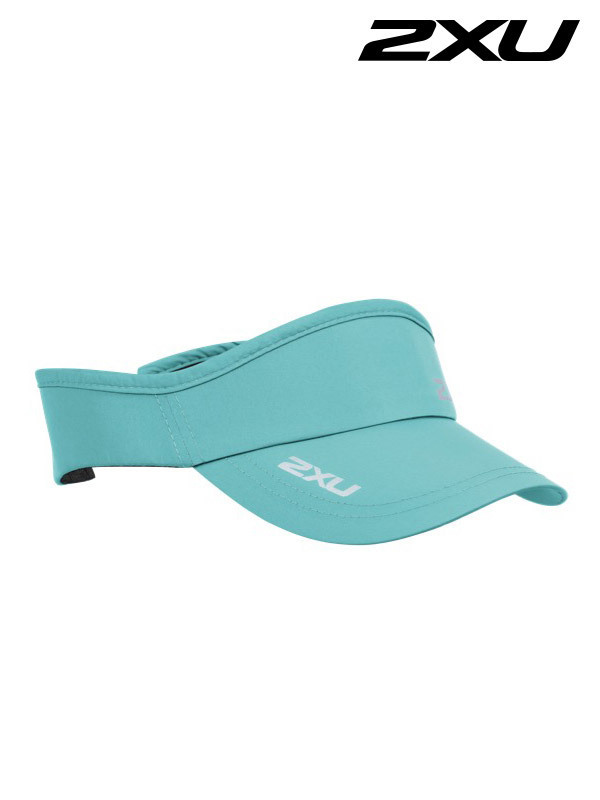 2XU Run Visor 런바이저-Seafoam