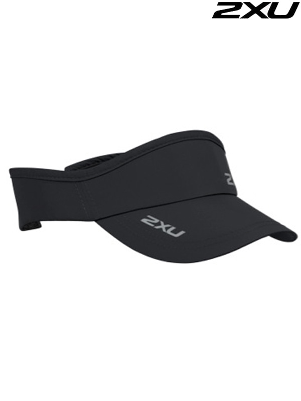 2XU 런바이저 Run Visor Black