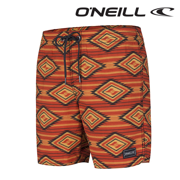 Oneill(오닐)남성 보드숏 503222 THIRST FOR SURF BOARDSHORT - RED AOP