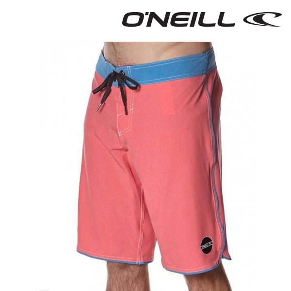 Oneill(오닐)남성 보드숏 503122 HYPERFREAK EVERYDAY BOARDSHORT - HIBISCUS RED